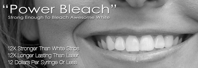 Power Bleach - Strong Enough To Bleach Awesome White