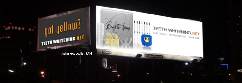 Got Yellow - Teeth Whitening Billboard