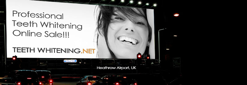 Professional Teeth Whitening Sale - Teeth Whitening Billboard